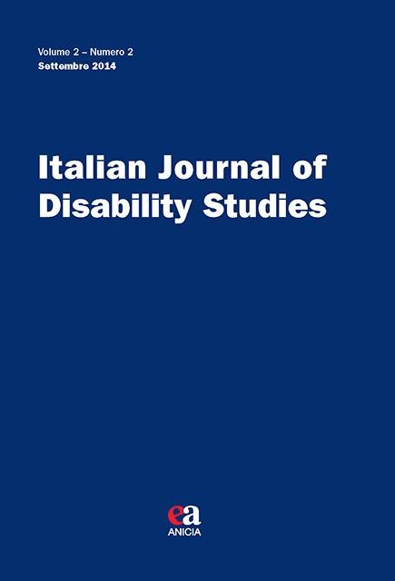 Italian Journal of Disability Studies - V. 2 - N. 2