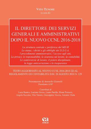Il direttore dei servizi generali e amministrativi nel nuovo CCNL 2016-2018